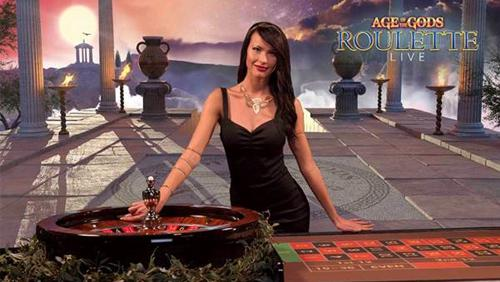 Age of Gods live roulette