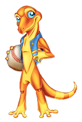 baseball gecko, define your game
