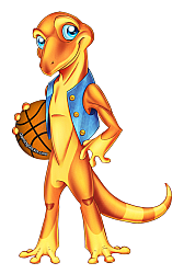 basketball gecko, define your game