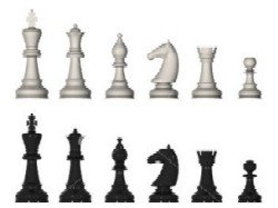 chess game pieces, chess games glossary + checkers
