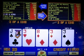 dual action video poker, new 2016 slot
