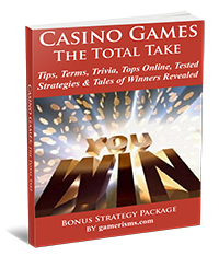 poker games glossary, casino games ebook, facts